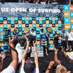 G-SHOCKがサポートする、アメリカ最大のサーフイベント「US OPEN OF SURFING」がハンティントンビーチで開催。