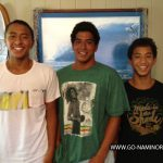 モニーツ兄弟による次世代のライディング。Hawaii Surf Team at ISA World Junior Championships Panama 2012 seg 1