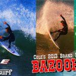 サーフボードメーカー COLE から 進化を遂げた 真木勇人モデル『BAZOOKA 2』が待望のリリース。