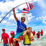 Go Naminoriブロガー、JOSH MONIZ(ジョシュ モニーツ)金メダル!! DAKINE ISA World Junior Surfing Championship Presented by Billabong