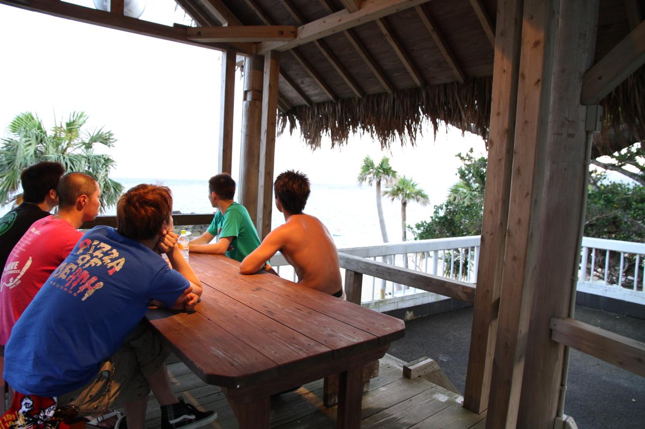 この夏、社員旅行で行った奄美大島。いい波だった〜