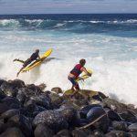 日本の低気圧がこの波を生み出す。Jaws Wipeouts March 2014