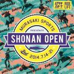 7/14(月)-21日(月・祝)サーフフェスティバル「SHONAN OPEN 2014」開催