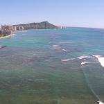 ハワイアラモアナボウルズ 空中撮影。by todaheli@gmail.com