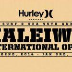 ハレイワインターナショナルオープン。12/26 からウェイティング開始。