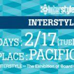 今期の新作をチェック。INTERSTYLE 2015 は2月開催です。