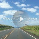 動画 ANAMI DENKO ハワイプロモーションムービー GONAMINORI タイアップ企画