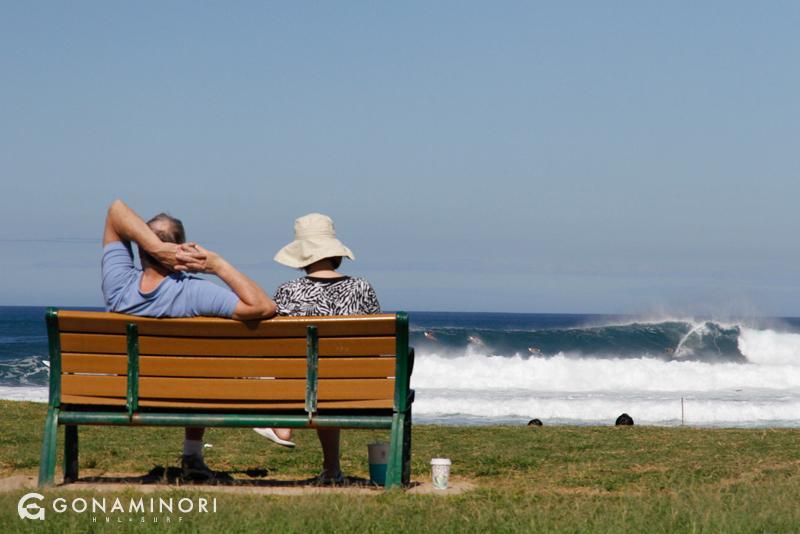 ハレイワサーフポイント。ハワイノースショアの波乗り登竜門!