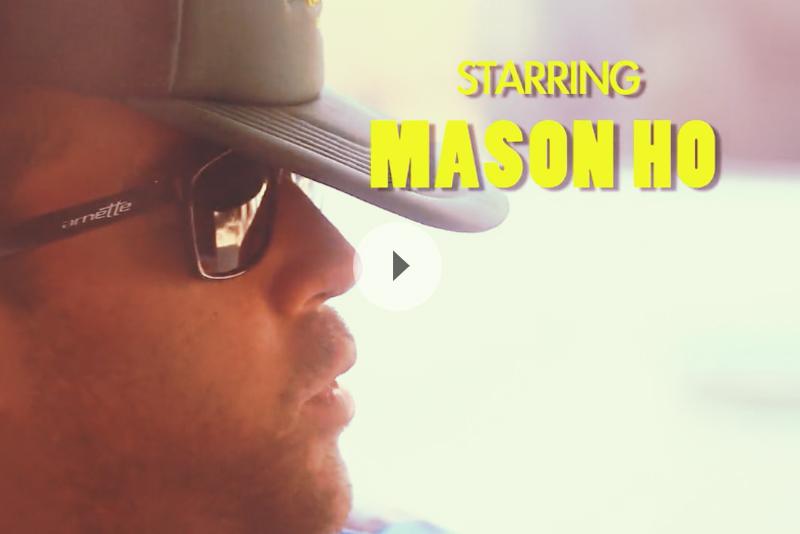 【ハワイ動画】華麗なる一族「メイソン・ホー」によるノースショアの正しい遊び方